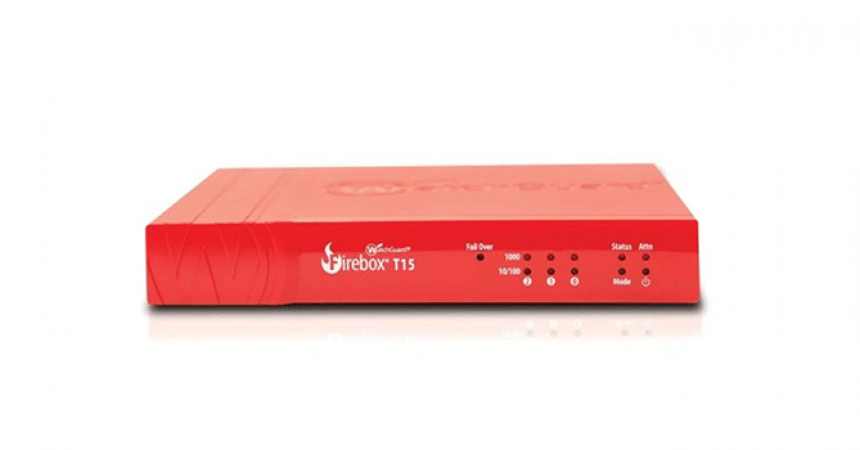 WatchGuard's New Tabletop UTM Appliances Deliver Speed and Security for Small and Distributed Offices