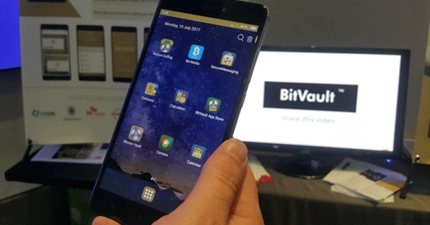 BitVault®, World's First Blockchain Phone to Start Shipping in November