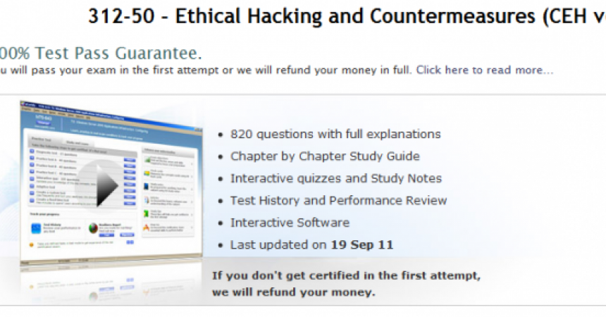 uCertify E312-50-v6 CEH Course Review : Ethical Hacking and Countermeasures